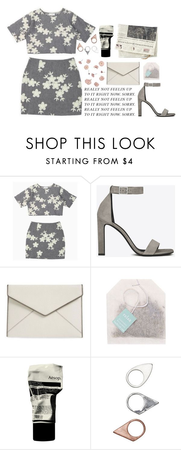 """babylon"" by zada on Polyvore featuring Yves Saint Laurent, Rebecca Minkoff, Aesop, Monki, women's clothing, women, female, woman, misses and juniors"