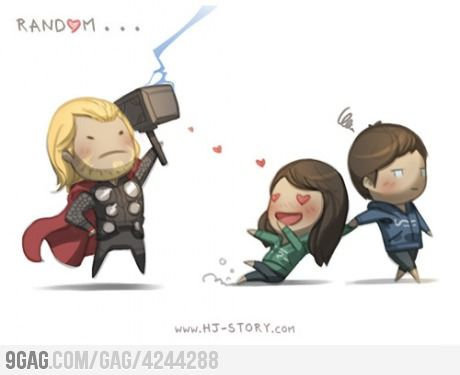 Just my friends after watching Avengers and they're like....