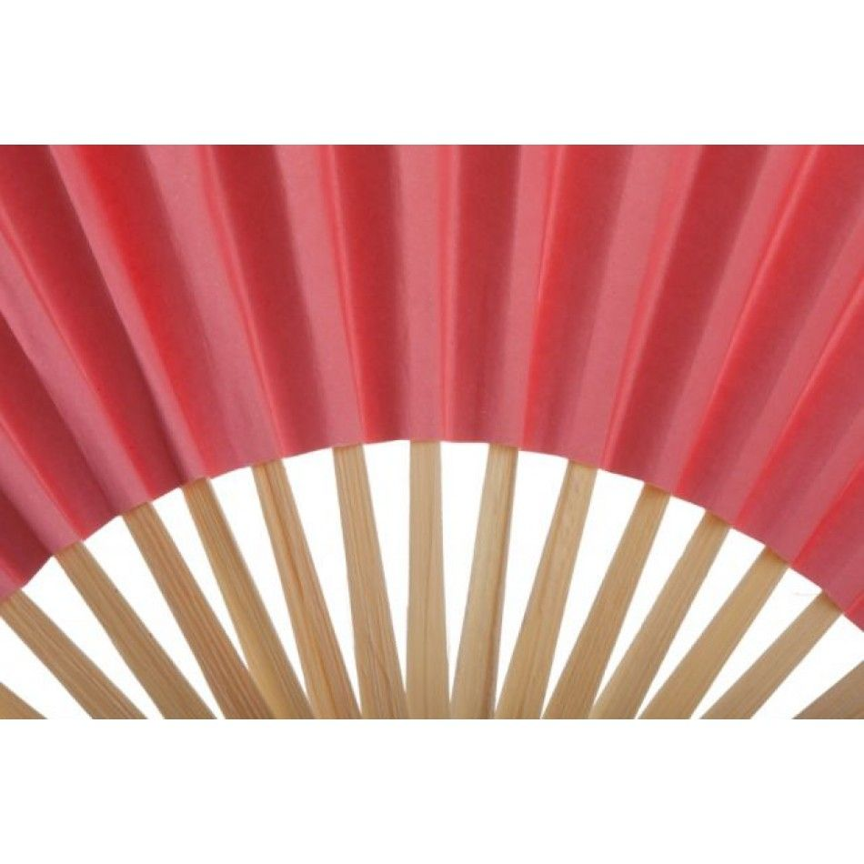 Maroon and white wedding decor  Folding Paper Fans  Coral   Wholesale Wedding Supplies