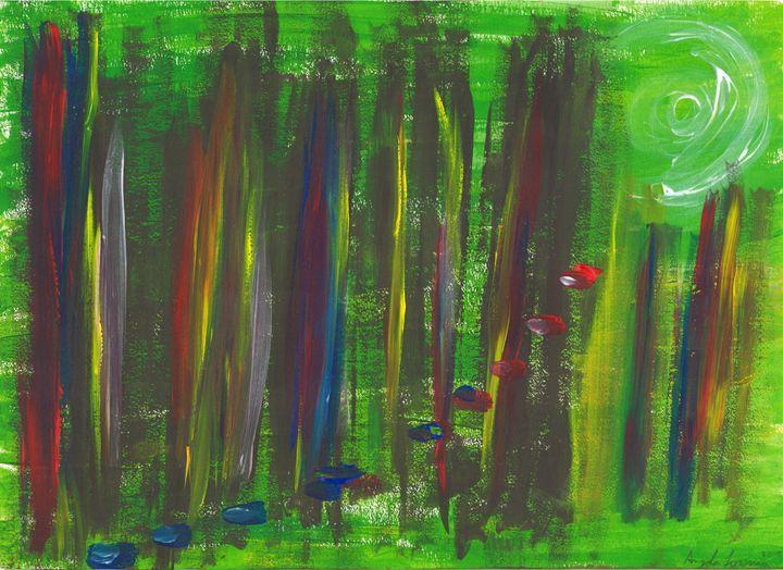 Toccata and Fugue in D Minor - Angela Sorosina - Paintings & Prints Abstract… | ArtPal thumbnail