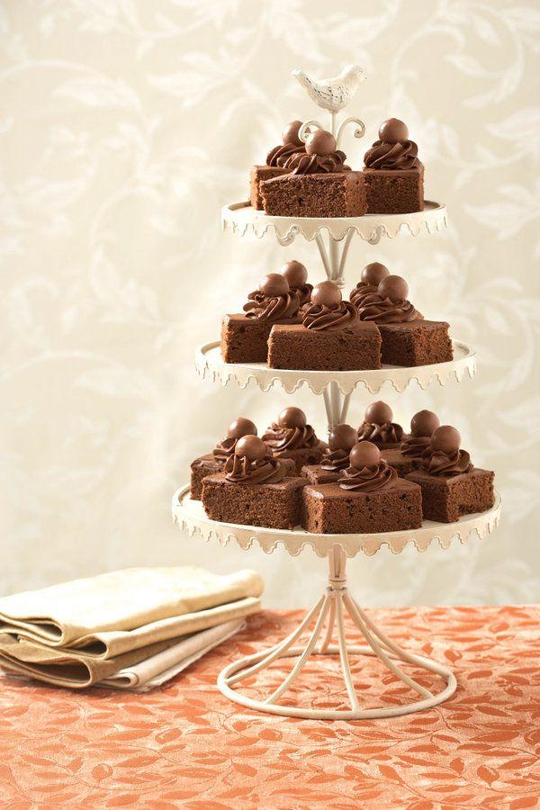 Vinnige sjokolade oondpan koek