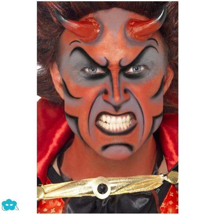 Set de maquillaje de demonio   Maquillaje para Halloween   Pinterest