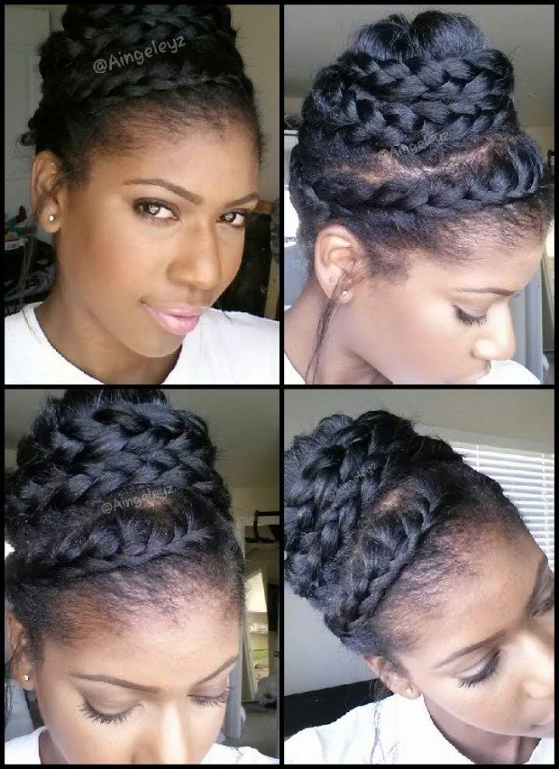 Hair 8 Protective Styles For Natural And Relaxed Hair Hair Styles Relaxed Hair Transitioning Hairstyles