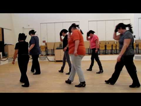 This Rockin Randy Travis Line Dance Has Ladies Kickin Up Their