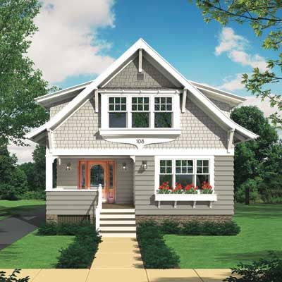 High Quality A Photoshop Rendering Of A Cottage Exterior Redesign