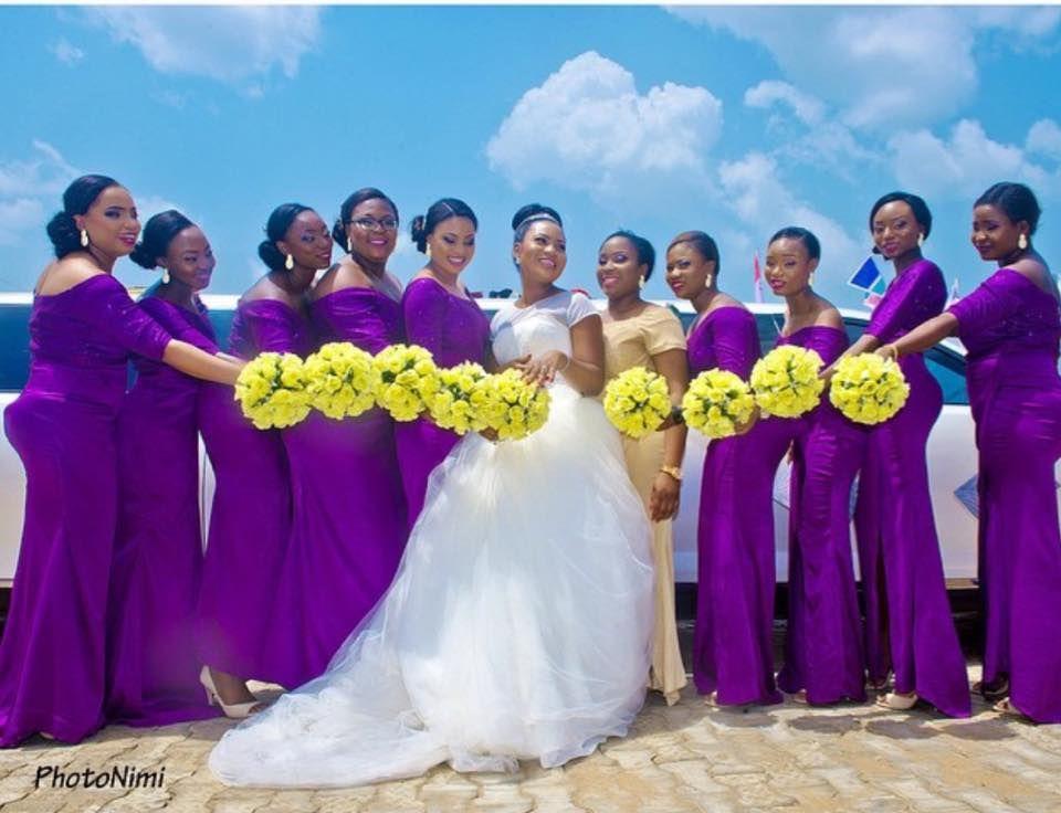 Nigerian Wedding Presents 400 Hottest Bridesmaids Dress Colors ...