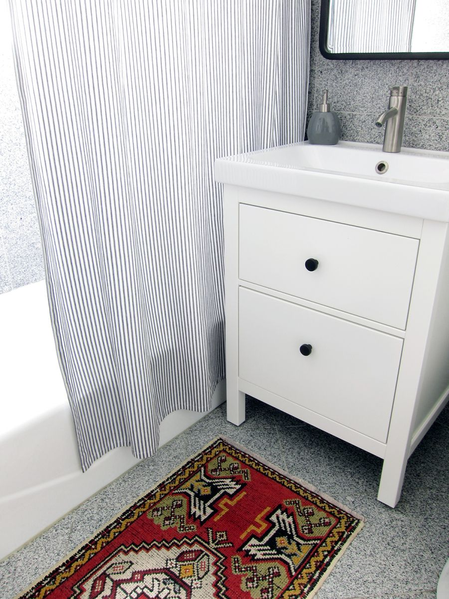 How I Installed An Ikea Bathroom Vanity With Images Ikea Vanity Ikea Bathroom Vanity Ikea Bathroom Furniture