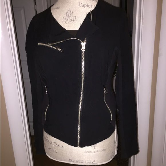 Nordstrom Max & Mia Jacket Like new, very light jacket. Moto style in cotton. Dry clean only Jackets & Coats