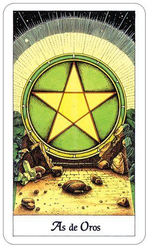 Cosmic Tarot - Ace of Pentacles