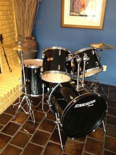 Fender Starcaster Complete 5 Piece Drumset Pickup Only Lincroft Nj
