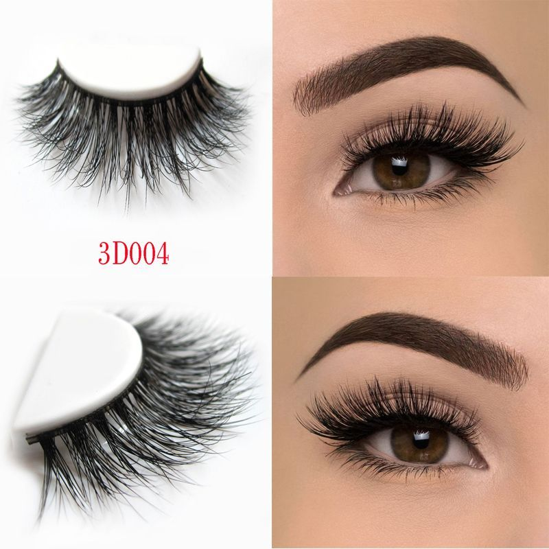 bcde051e348 Arison Lashes Beauty mink eyelashes 3D MINK False Eyelashes Messy Cross  Dramatic Fake Eye Lashes Professional Makeup Lashes D004 #GlowingSkinTips