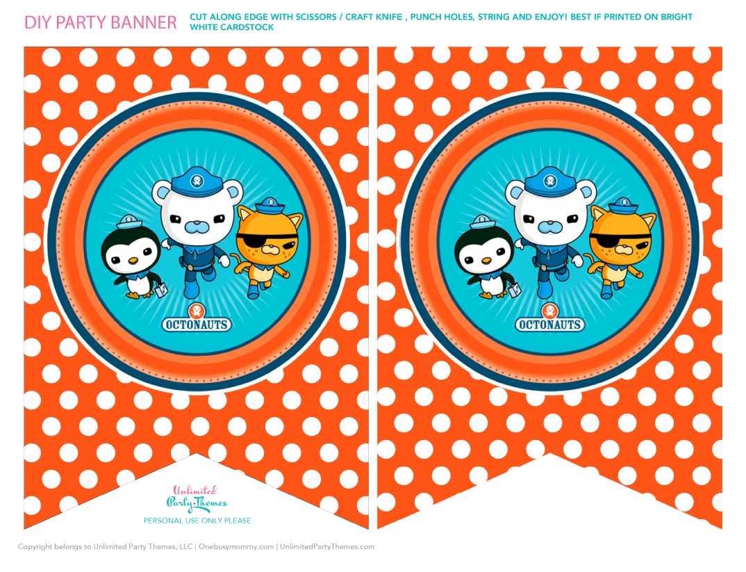 Pin By Crafty Annabelle On Octonauts Printables