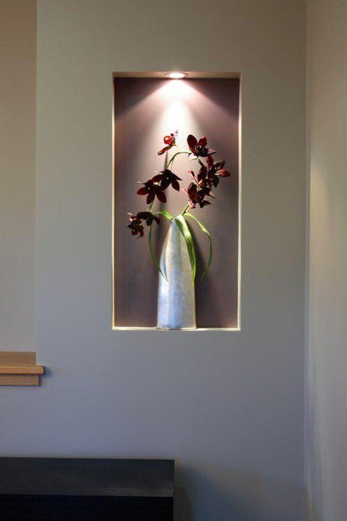 ▷ 1001+ idées comment décorer vos intérieurs avec une niche murale - Comment Decorer Ses Toilettes
