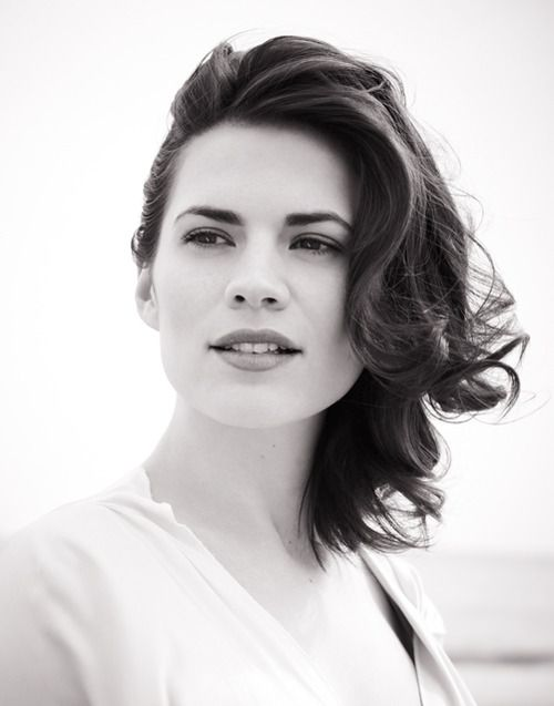 Hayley Atwell. Claire Randall Fraser, in Diana Gabaldon's ...