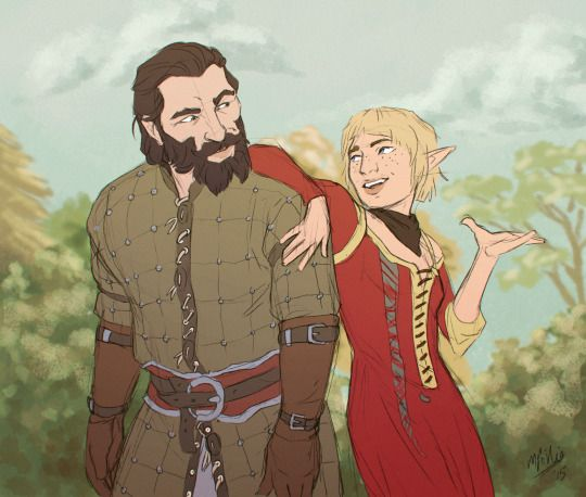 Love Blackwall and Sera's banter
