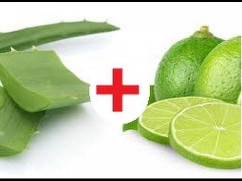 Adelgazar con aloe vera y limon
