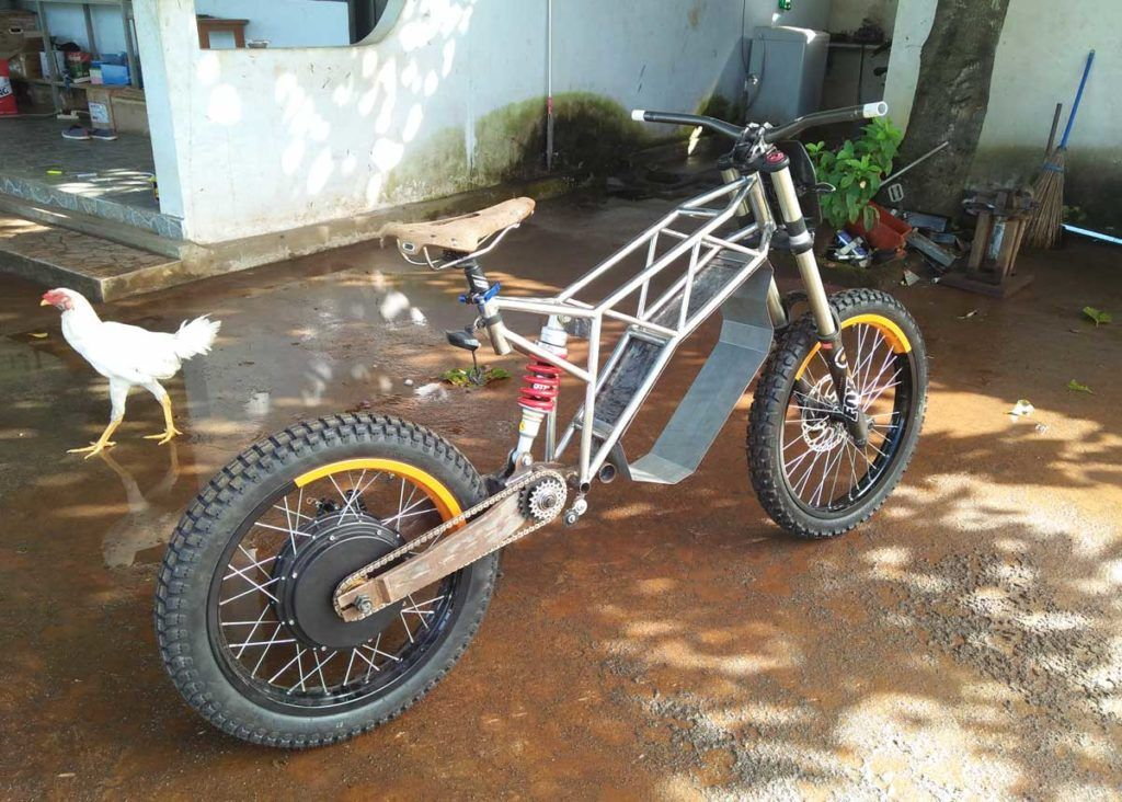Custom E Bike By Le Bui Company From Lombok Indonesia Electric