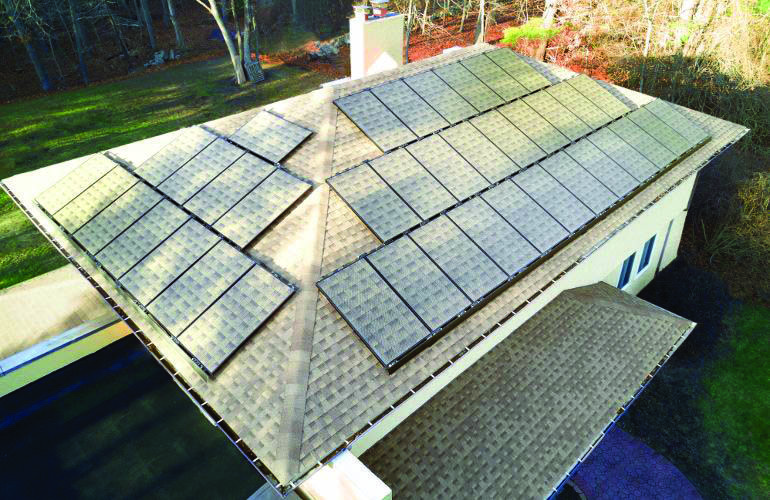 Conveniences And Drawbacks Of Solar Roof Tiles That You Need To Understand About Homes Tre Solar Roof Tiles Solar Panels Solar Roof