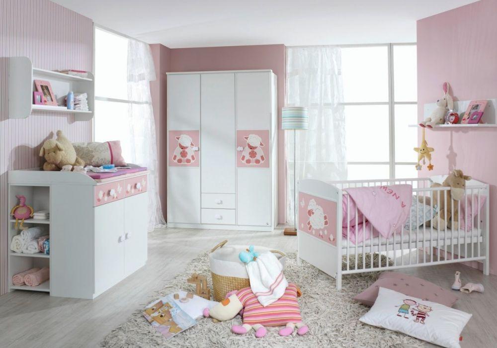 Unique Elefanten Girls rosa grau Klassisches Babyzimmer in rosa wei und grau mit Elefanten Wandgestaltung und passenden Accessoires Kinderzimmer Pinterest