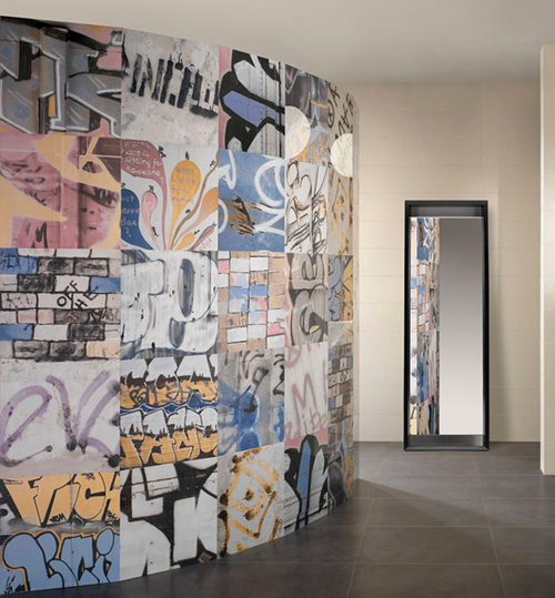 Graffiti Great For A Kids Room Accent Wall Home