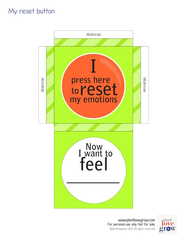 A visual reminder that we have the power to reset our emotions. http://www.plantlovegrow.com/feelings--emotions.html