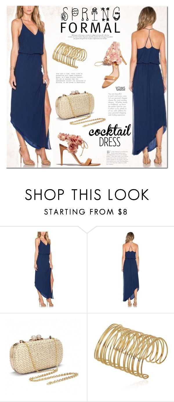 """Spring Formal"" by mada-malureanu ❤ liked on Polyvore featuring Rupert Sanderson and springformal"