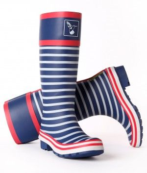neueste Kollektion modisches und attraktives Paket 2019 original Evercreatures Gummistiefel - In the Navy - Blau Weiß ...
