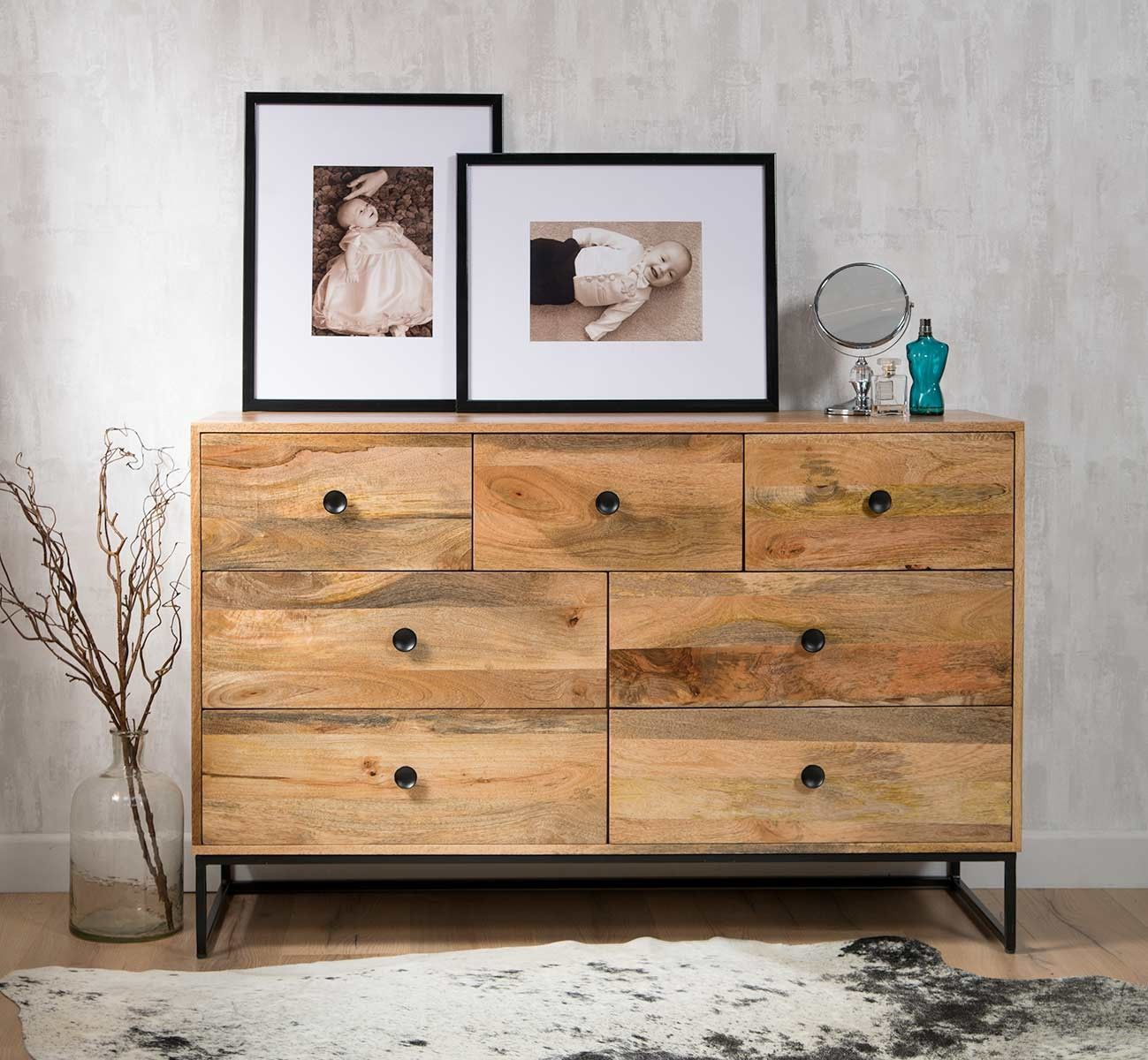Imari Industrial Mango Large Chest Of Drawers in 2020
