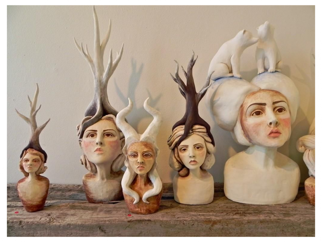 Crystal Morey In Our Nature At Compound Gallery Studios Oakland Art Enthusiast Ceramic Art Ceramic Art Ideas Ce In 2020 Art Sculpture Art Sculpture