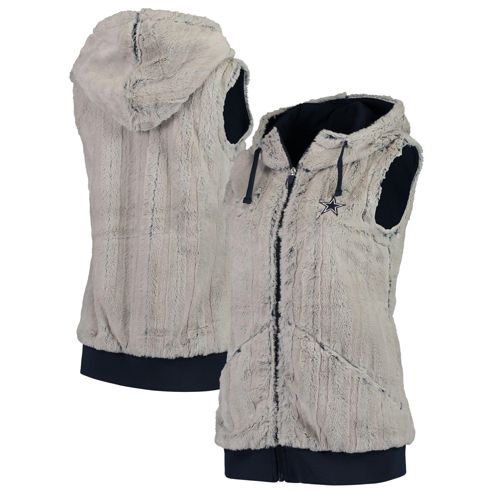 finest selection 22091 1f8dc NFL Dallas Cowboys Antigua Women's Rant Hooded Full-Zip Vest ...