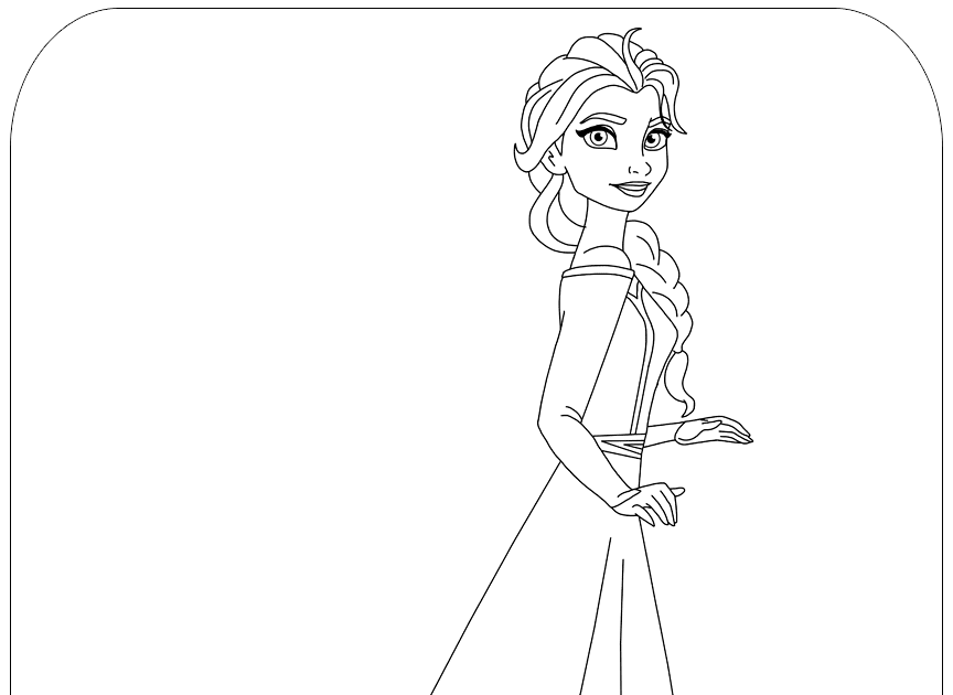 Disney S Frozen Coloring Pages Disneyclips Com Pin On Coloring Pages For Kids Disn Disney Princess Coloring Pages Elsa Coloring Pages Frozen Coloring Pages