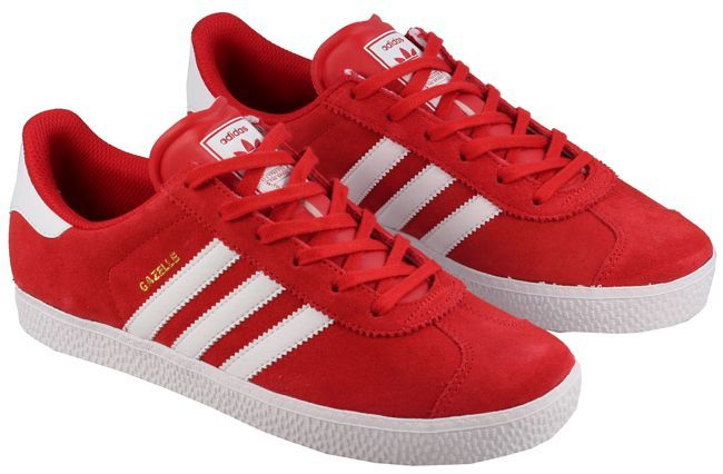 red adidas junior trainers Shop