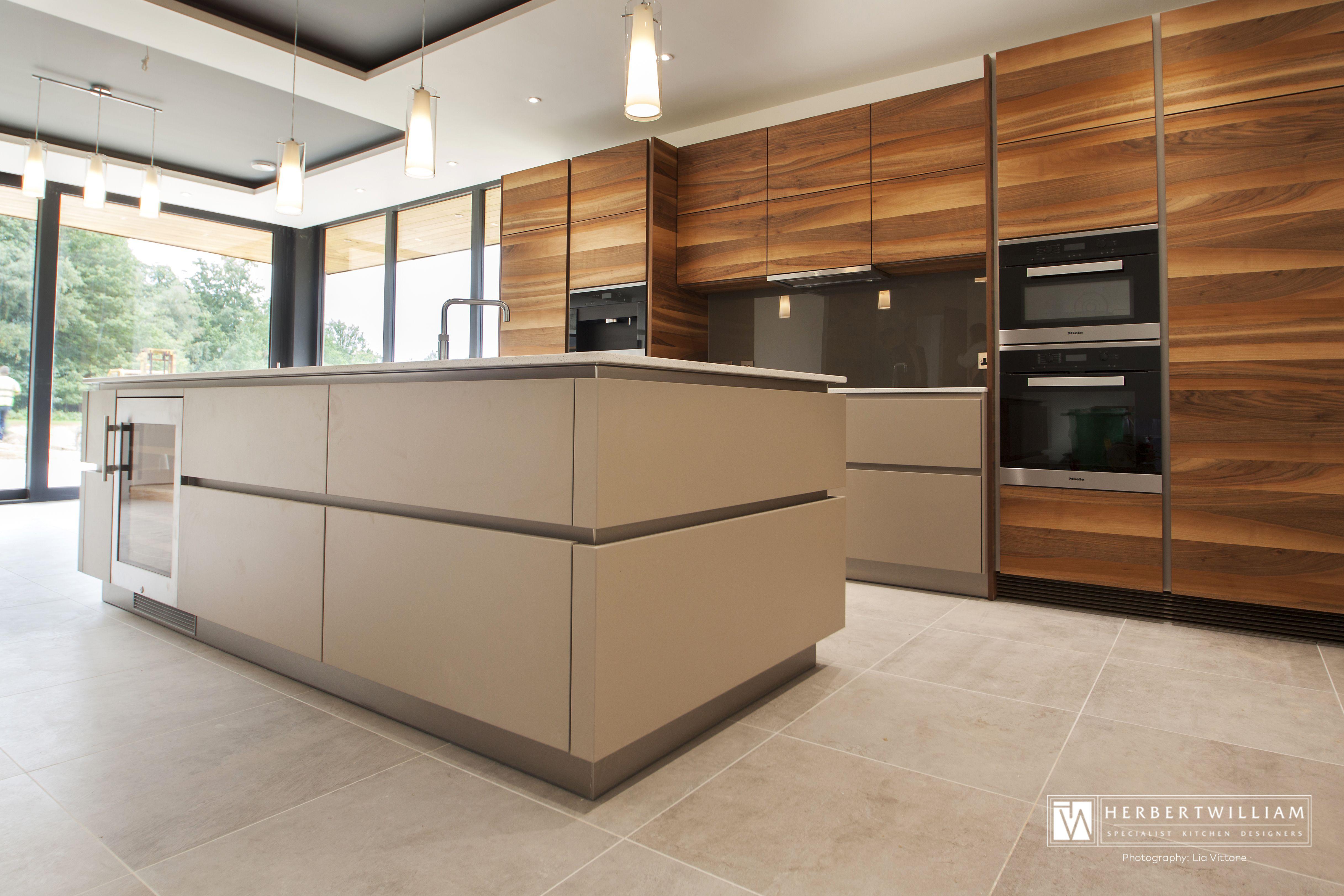Luxury Intuo kitchen design by Herbert William Kitchen Design ...