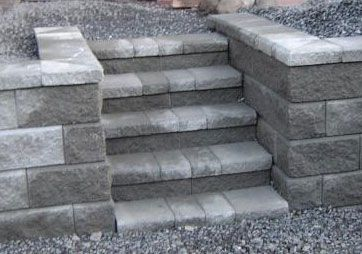 Build Cinder Block Steps | Block Stairs 26 KB