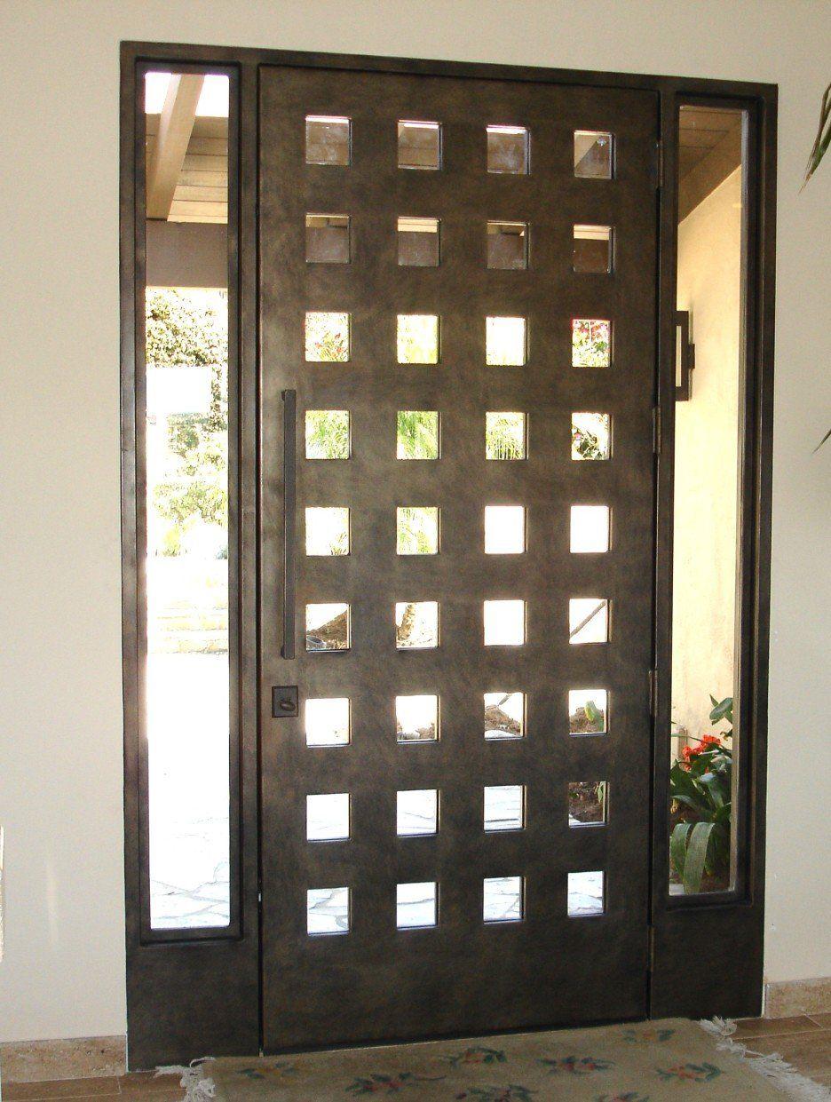 27 Nice Wooden Bathroom Doors Iron Doors Exterior Entry Doors Wrought Iron Front Door