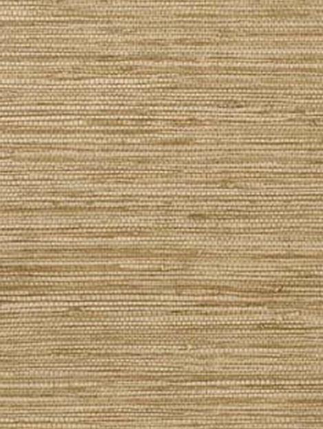 Gold Blond Faux Grasscloth Wallpaper Weave Woven