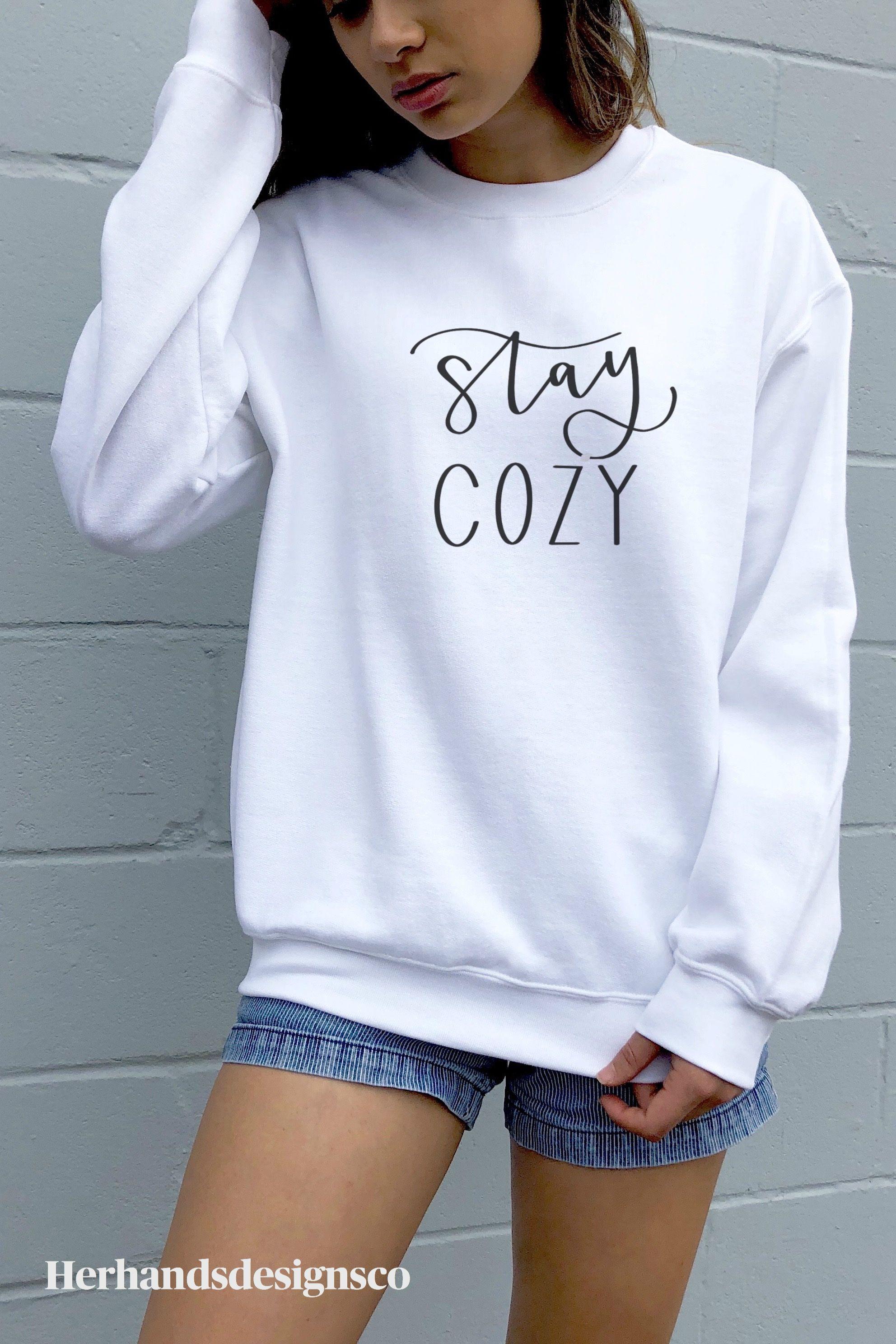 Stay Cozy Gildan Heavy Blend Crewneck Sweatshirt Etsy Casual Outfit Inspiration Sweatshirts Cozy Sweatshirts [ 2976 x 1984 Pixel ]
