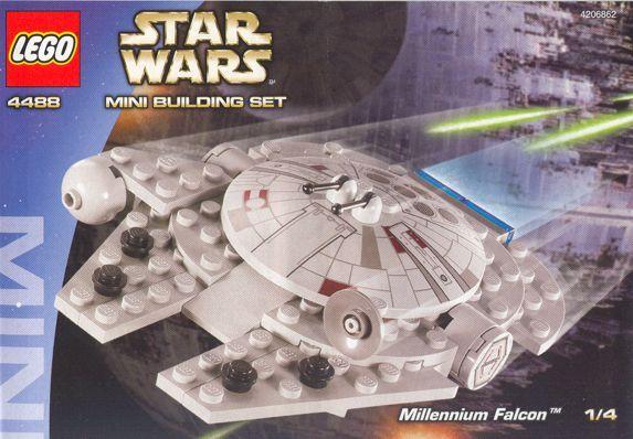 Star Wars Mini Mini Millenium Falcon Lego 4488 Lego Millennium