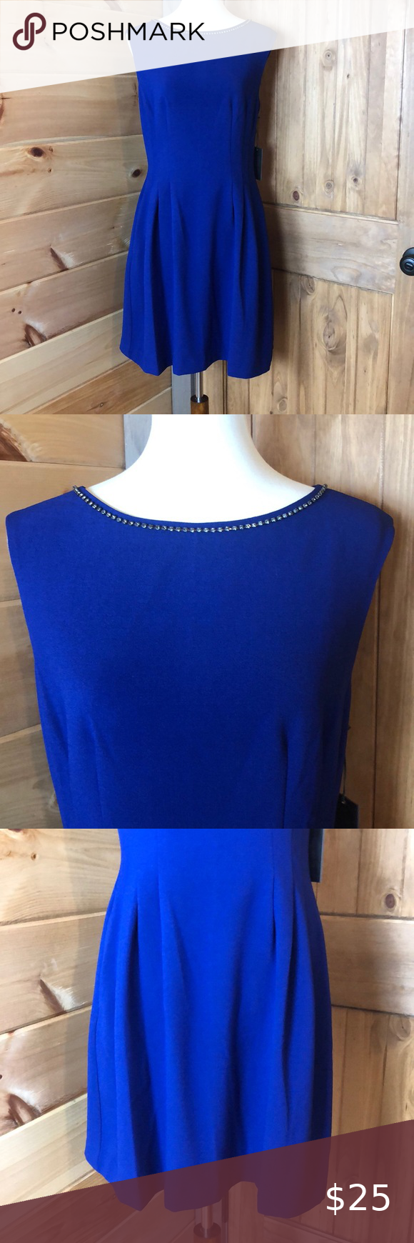 Nwt Vince Camuto Royal Blue Dress Vince Camuto Blue Flattering Dress With Rhinestones New With Tags Great For Royal Blue Dress Blue Dresses Flattering Dresses [ 1740 x 580 Pixel ]