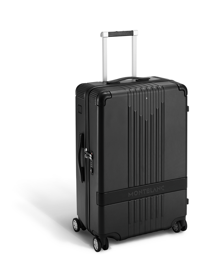 cf60fa1365c9 Montblanc Introduces Chic, Understated #MY4810 Trolley Luggage ...