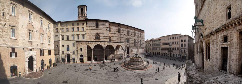 Los subterráneos de la Catedral de San Lorenzo En Perugia
