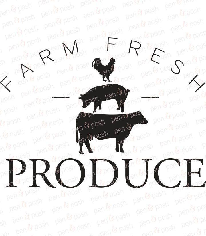Farm Fresh Produce SVG