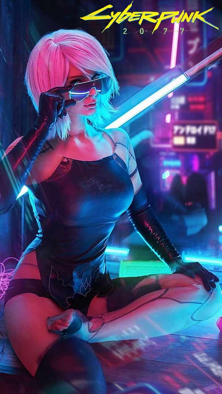Cyberpunk 2077 Wallpaper Hd Phone Backgrounds Night City Game Logo Art Poster On Iphone Android In 2020 Cyberpunk 2077 Cyberpunk Girl Cyberpunk Anime