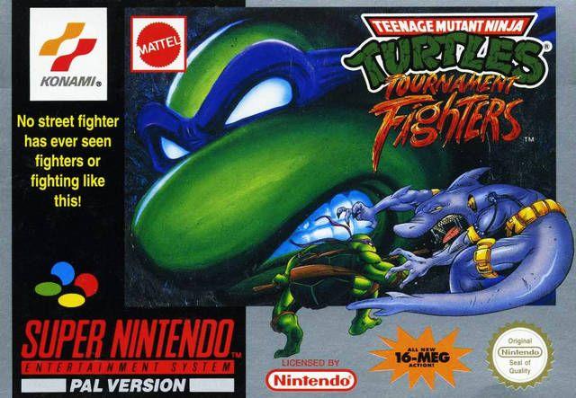 Teenage Mutant Ninja Turtles Tournament Fighters Super Nintendo