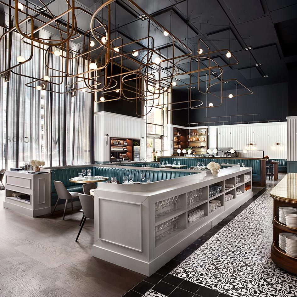 Victor, Toronto, Canada   Wallpaper, Restaurants and Restaurant design