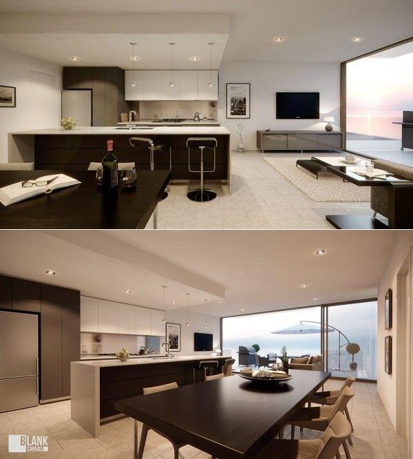 apartamentos - tikinti (7) | Casa | Pinterest | Apartamentos, Salón ...