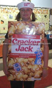 Miss cracker jack adult costume