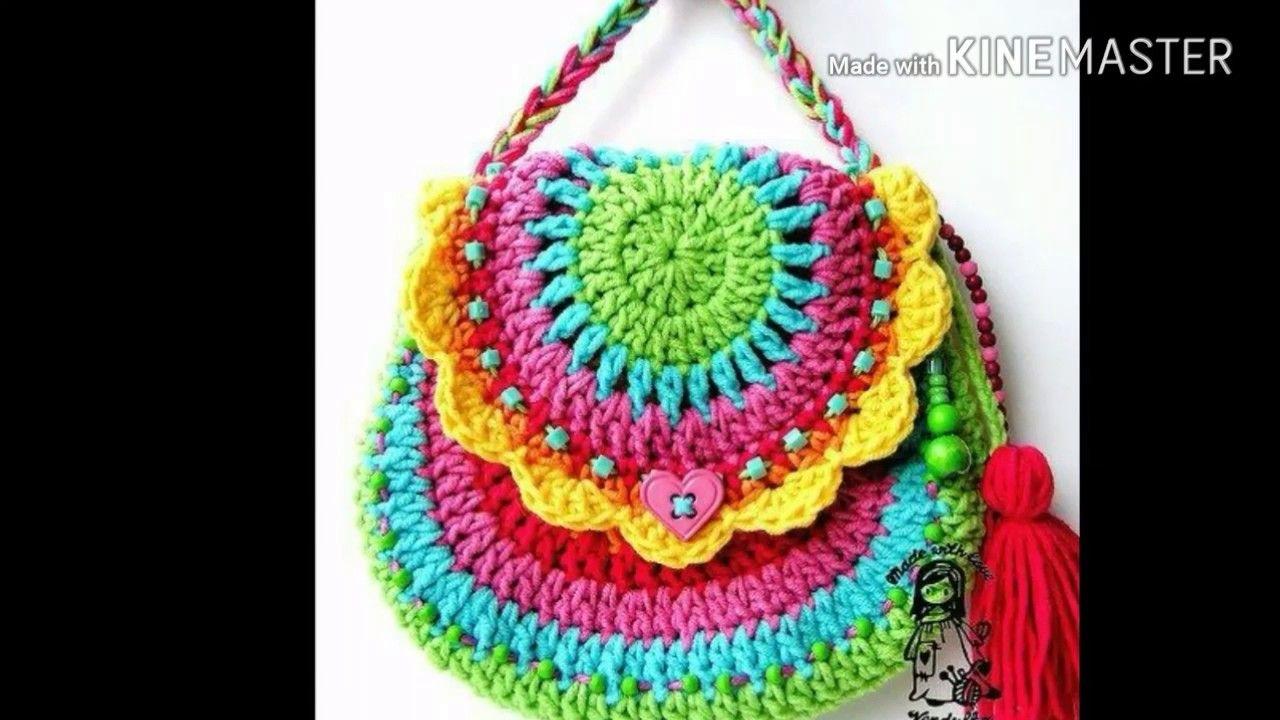 Risultati immagini per menina bolso tejido a crochet