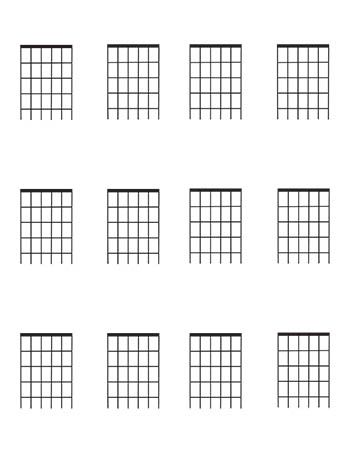 Image result for free guitar chord blank chart Air BnB ideas - music paper template