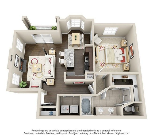 Vie At The Medical Center Rentals Houston Tx Apartments Com A Frame House Plans House Layout Plans House Floor Plans